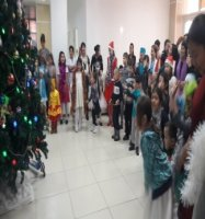 New Year's children's holidays in Aktobe Medical Center