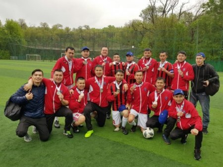 Athletic success of a team of medical staff in the Aktyubinsk region