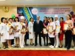 Professional holiday of nurses in Aktobe Medical Center.